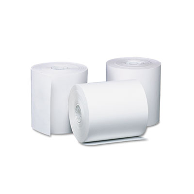"""Direct Thermal Printing Thermal Paper Rolls, 3.13"""" x 230 ft, White, 8/Pack"""