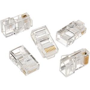 IDEAL 85-346 RJ45 8P8C Mod Plugs (Card of 25)