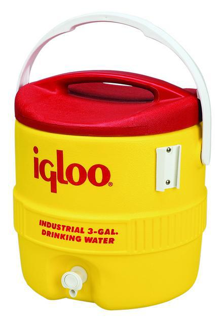 431 3G YELLOW/RED WATER COOLER