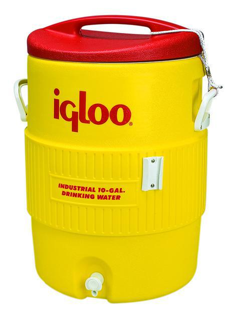 4101 10G YELLOW/RED WATER COOLER