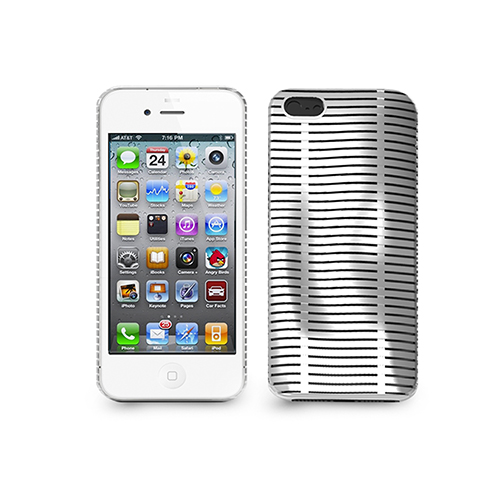 ILUV ICA7T324WHT WHITE TOPOG I IPHONE5 CASE PROTECTION MESH