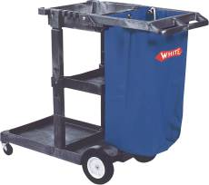 REPLACEMENT BAG FOR JANITOR CART 25 GALLON