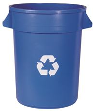 GATOR� 32 GAL. TOUCHLESS VENTED RECYCLE CONTAINER RECYCLING BIN