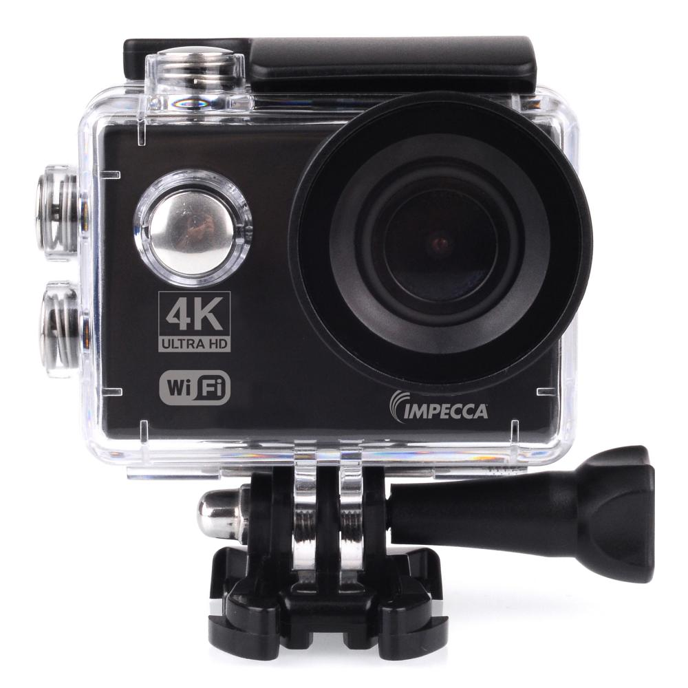 IMPECCA Acquire 4K Ultra HD Waterproof Sports Action Camera with WiFi