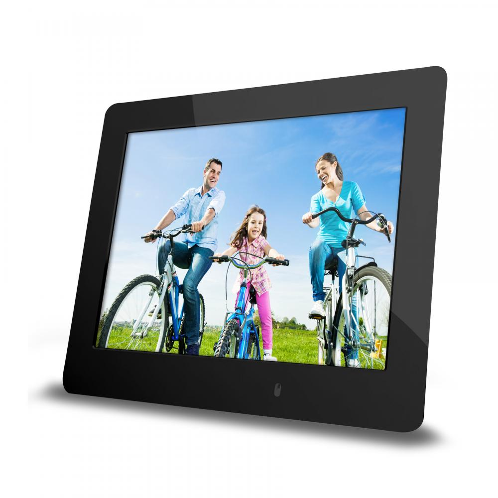IMPECCA 8 Inch Ultra-Slim Digital Frame - Black