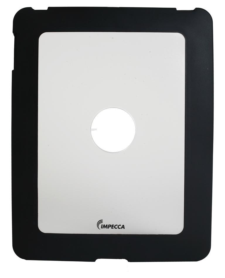 IMPECCA IPS101 Flexi-Clear TPU/Crystal Combination Protective Skin for iPadGS= - Black