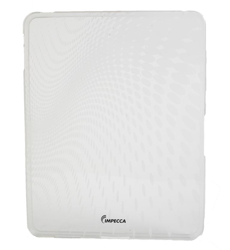 IMPECCA IPS120 Wave Pattern Flexible TPU Protective Skin for iPadGS= - White