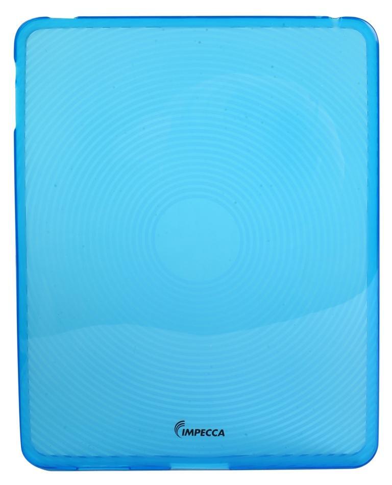 IMPECCA IPS123 Fingerprint Flexible TPU Protective Skin for iPadGS= - Blue