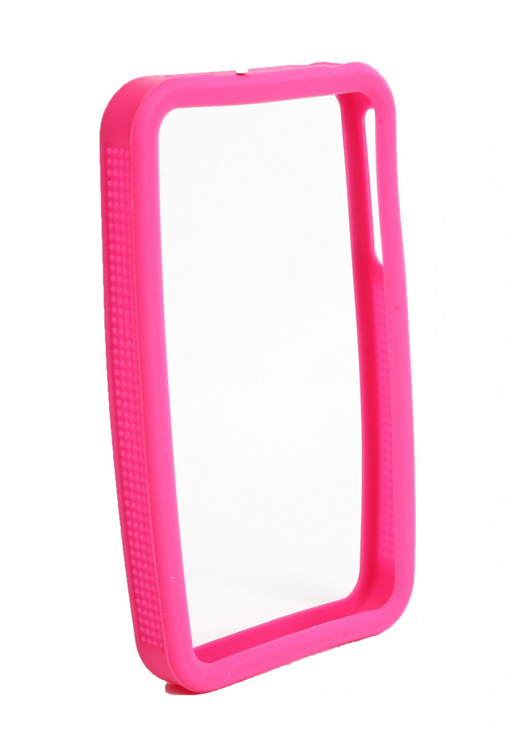 IMPECCA IPS225 Secure Grip Rubber Bumper Frame for iPhone 4GS= - Pink