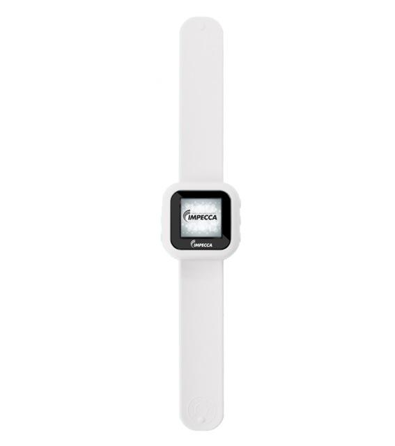 IMPECCA MPW1540 4GB MP3 and Video Player Slap Watch - White