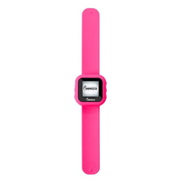 IMPECCA MPW1580 8GB MP3 Slapwatch with 1.5-inch TFT Display, Pink