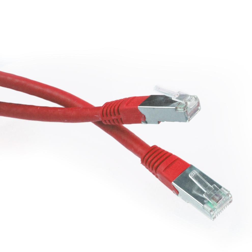 IMPECCA NC603 3 FT. CAT6 RJ45 Network Patch Cable - Red