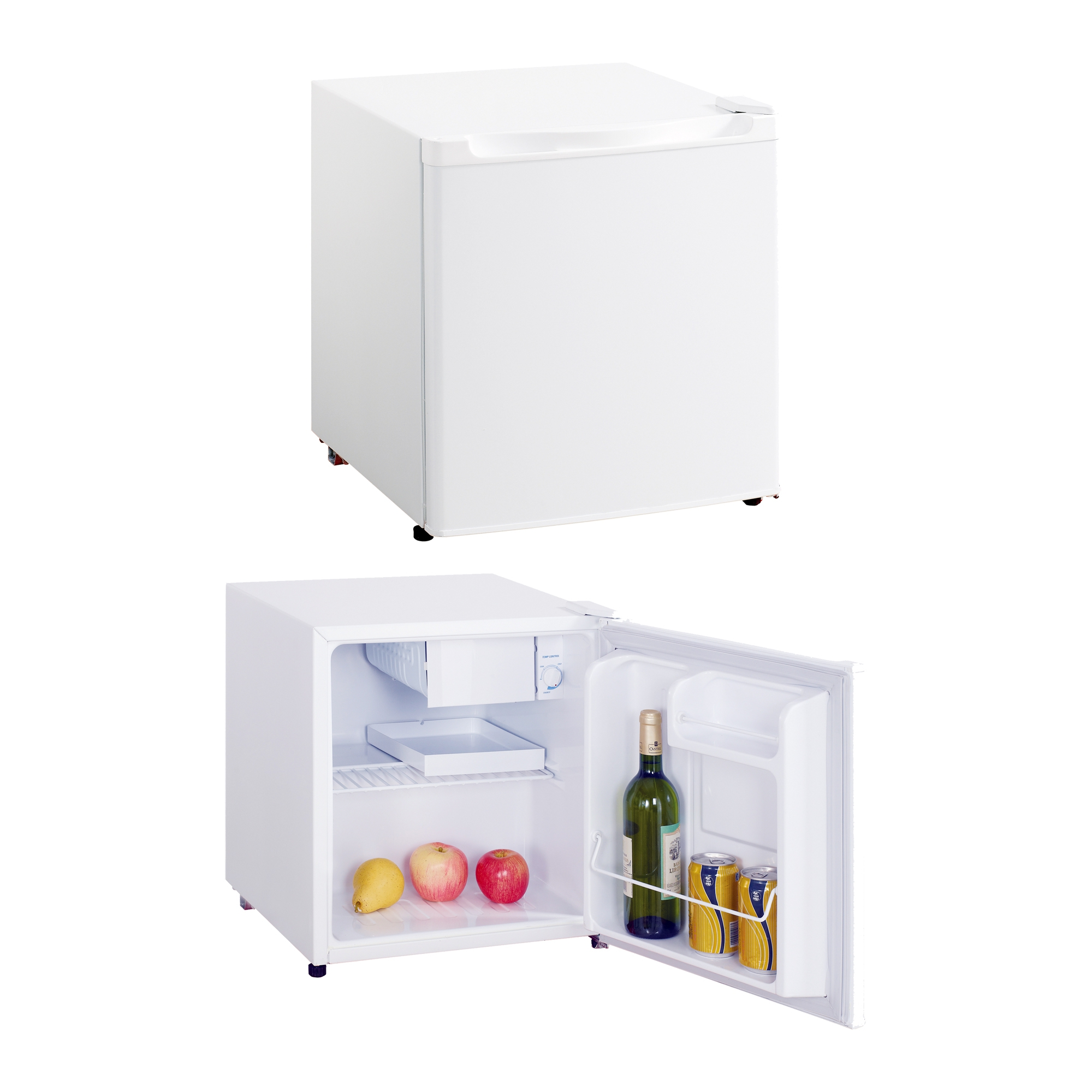 IMPECCA 1.7 CU FT Compact Refrigerator, White
