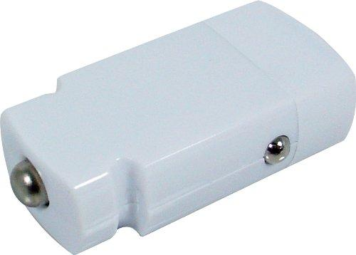 IMPECCA USB5M 5-Watt Car Adapter - White