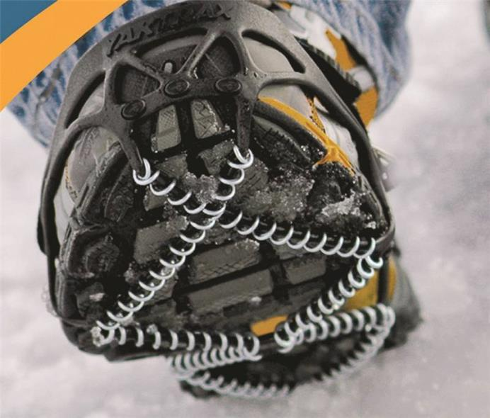 Yaktrax Pro Spikeless Over Boot/Shoe Traction Device, For Use With Men 9 - 11 in Size and Women 10-1/2 - 12-1/2 in Size