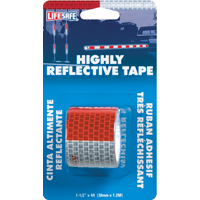 TAPE REFLECT RL HI 1-1/2X4FT