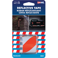 TAPE REFLECT RD/SIL 1-1/2X40FT