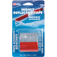 TAPE REFLECT DOT2 ROLL 2X10FT