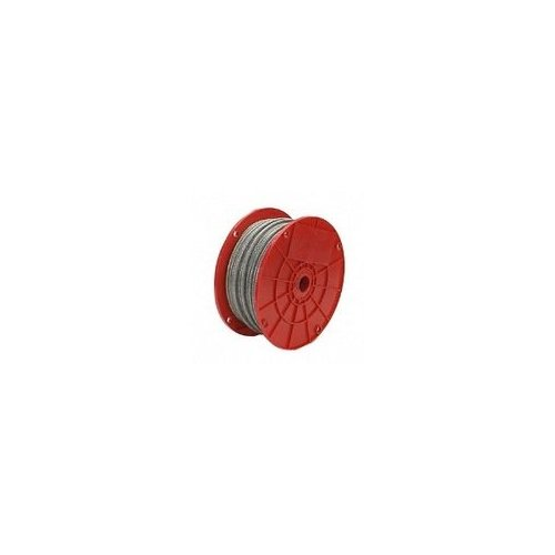1/4 INCH X250 FEET  GALVANIZED CABLE- 7X19""
