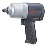 Ingersoll-Rand 2100G Composite Air Impact Wrench, 1/2 in, 9500 rpm, 1200 bpm, 5 cfm, 90 psi