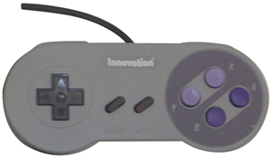 Innovation INNOV0315 Game Controller for Super Nintendo Entertainment System