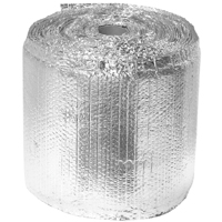 TVM Building Products 2222-24-025 Double Bubble Reflective Insulation Tab, 24 in W X 25 ft L X 5/16 in Thick