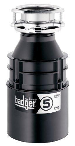1/2 HP Disposer Badger