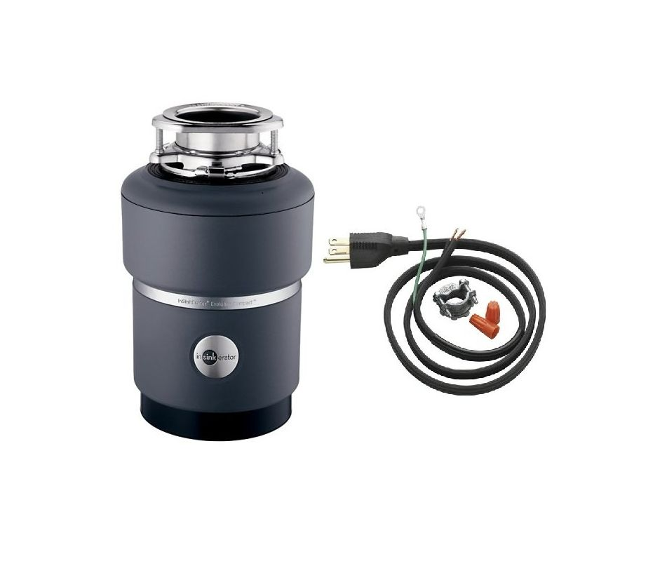 3/4 HP Comp GARBAGE Disposer With CORD