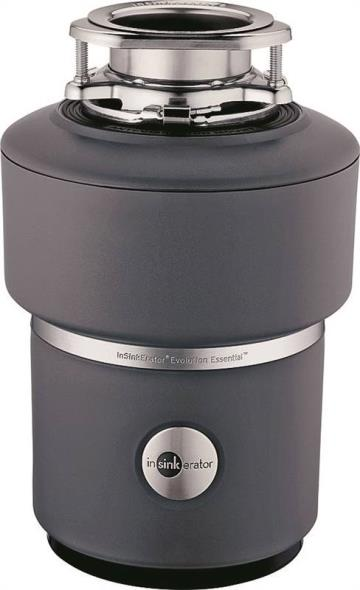 In-sink-erator, Evolution Essential 76000 Food Waste Disposer, 1725 rpm, 40 oz, 1-1/2 in