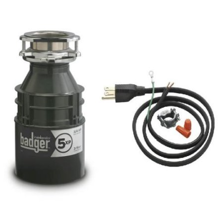 3/4 HP GARBAGE Disposer With CORD Badger