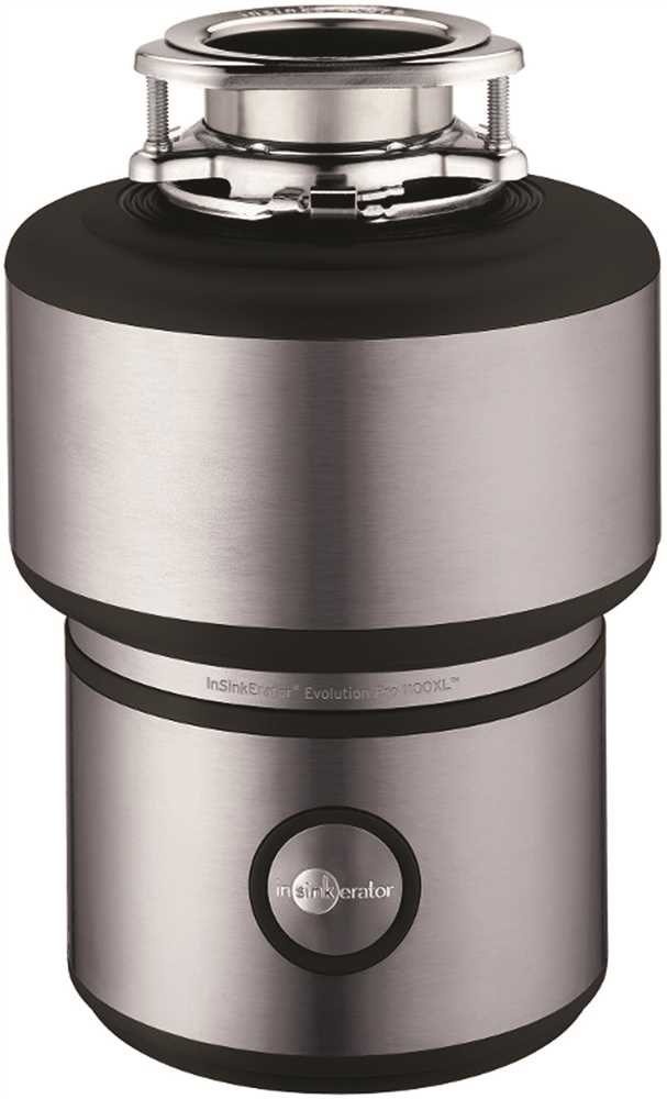 1.1 HP PRO 1100XL Disposer
