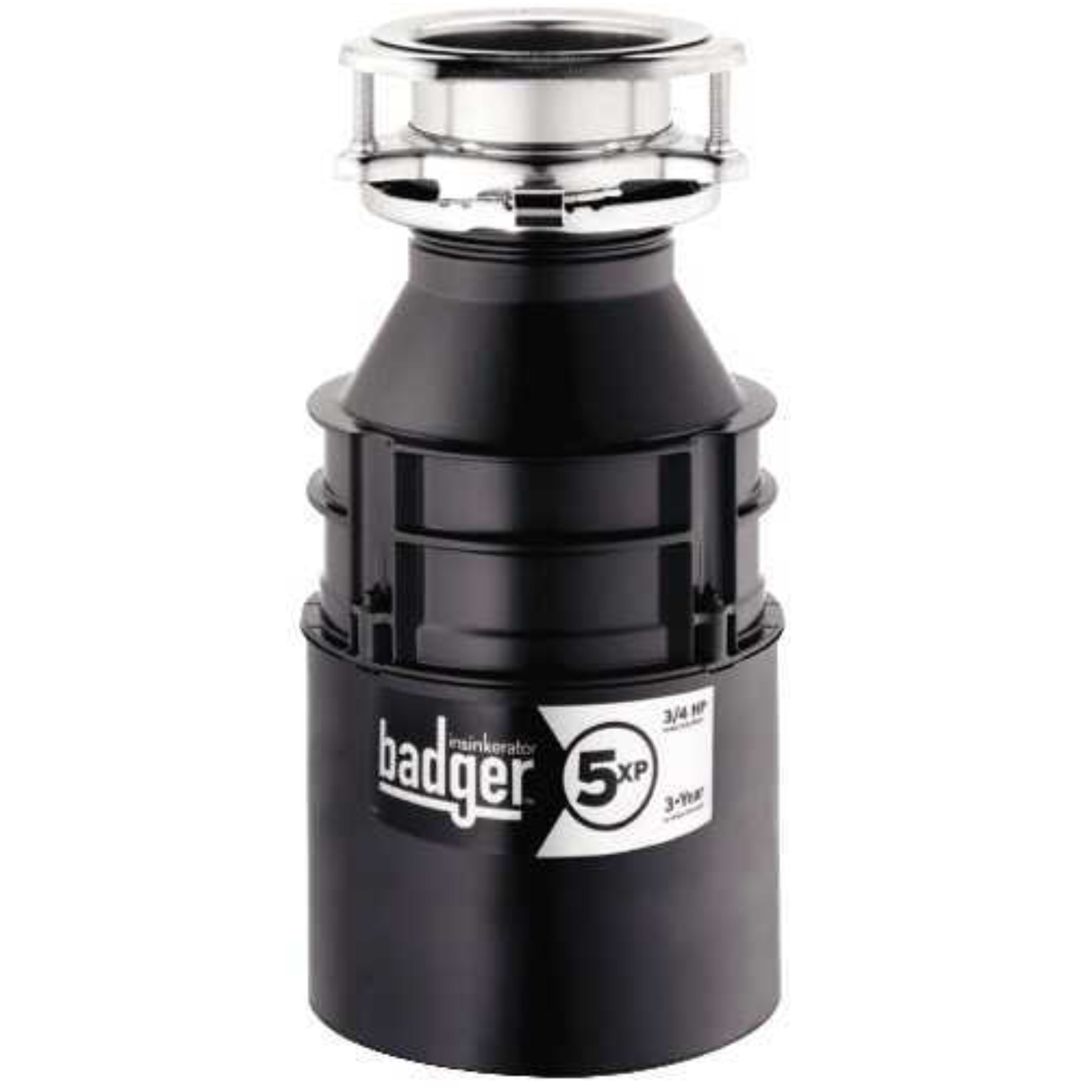 IN-SINK-ERATOR� BADGER� 5XP� GARBAGE DISPOSAL, 3/4 HP