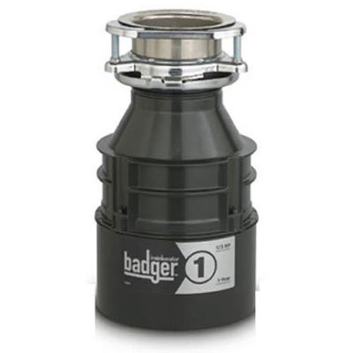 INSINKERATOR� BADGER� 1 GARBAGE DISPOSAL WITHOUT POWER CORD, 1/3 HP