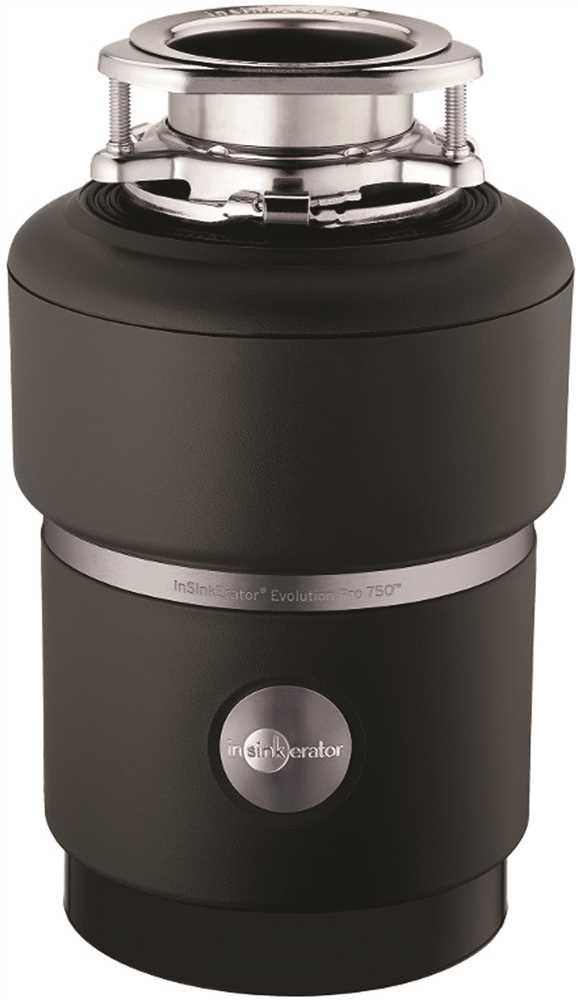 IN-SINK-ERATOR� PRO 750� GARBAGE DISPOSAL WITH CORD, 3/4 HP
