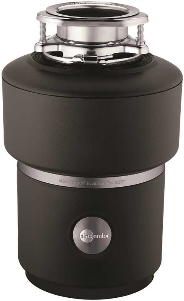 IN-SINK-ERATOR� PRO 880� GARBAGE DISPOSAL WITH CORD, 7/8 HP