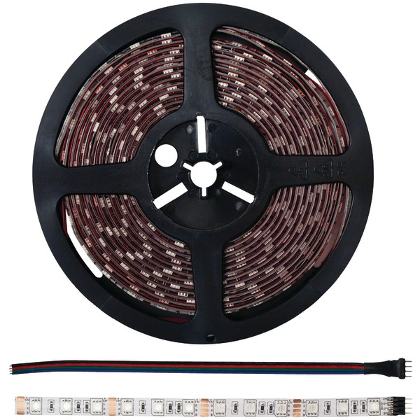 INSTALL BAY 5MRGB-1 LED STRIP LIGHT WITH 16 SELECTABLE COLORS, 5M