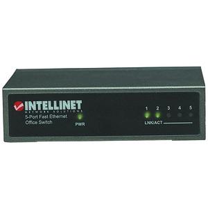 Intellinet Network Solutions 523301 Desktop Ethernet Switch (5 port)
