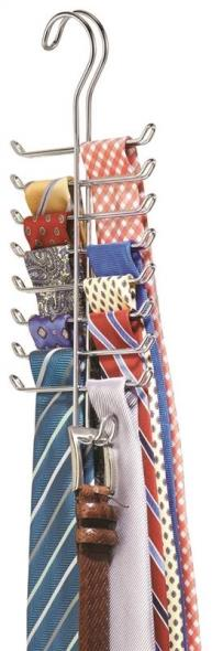 RACK TIE/BELT VERTICAL CHROME