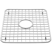 InterDesign 72102 Sink Grid, 12-3/4 in Length x 11 in Width, 18/8 ga Stainless Steel, Polished
