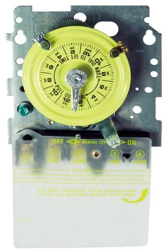 24 HOUR MECHANICAL TIME SWITCH MECHANISM ONLY SPST 120 VOLT