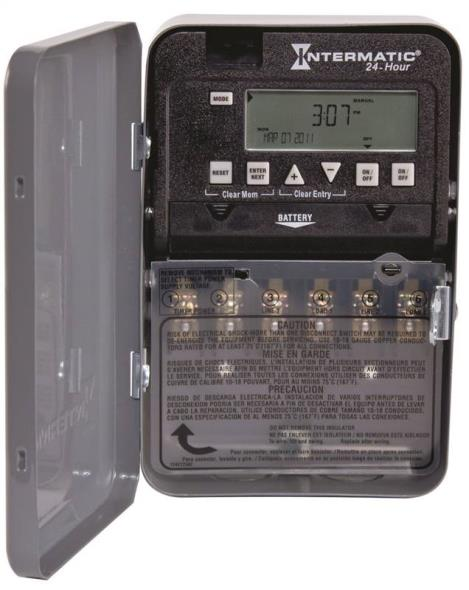 SWITCH TIMER 1-2POLE 30A 277V