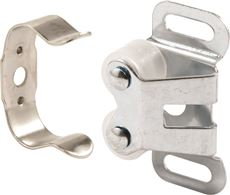 PRIME-LINE DOUBLE ROLLER CATCH, ZINC PLATED, 5 PER PACK