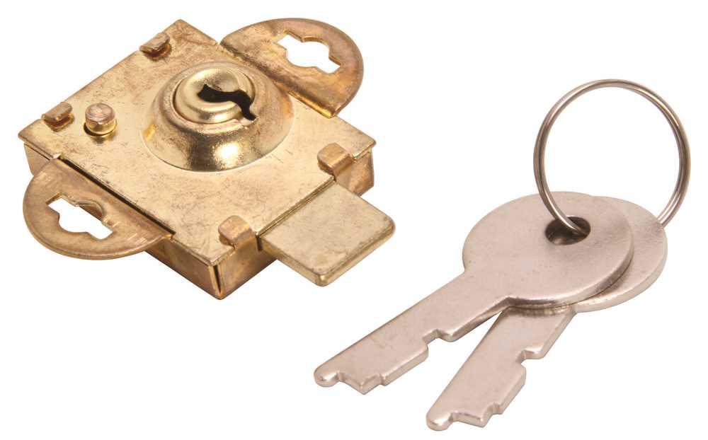 NATIONAL BRAND ALTERNATIVE 804453 Mailbox Lock