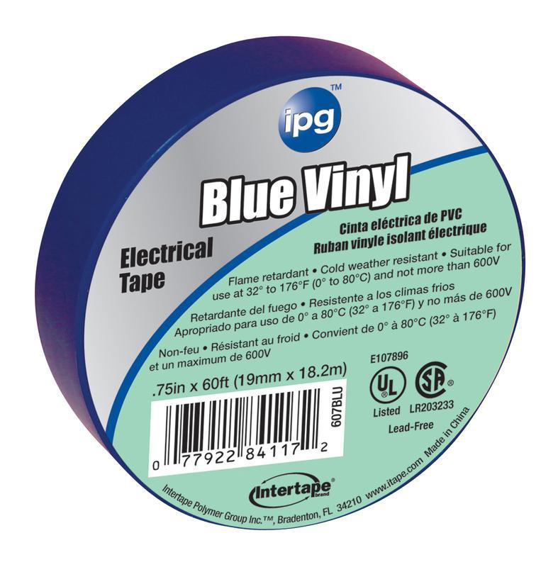 4117 .75X60 FT. BLUE ELEC TAPE