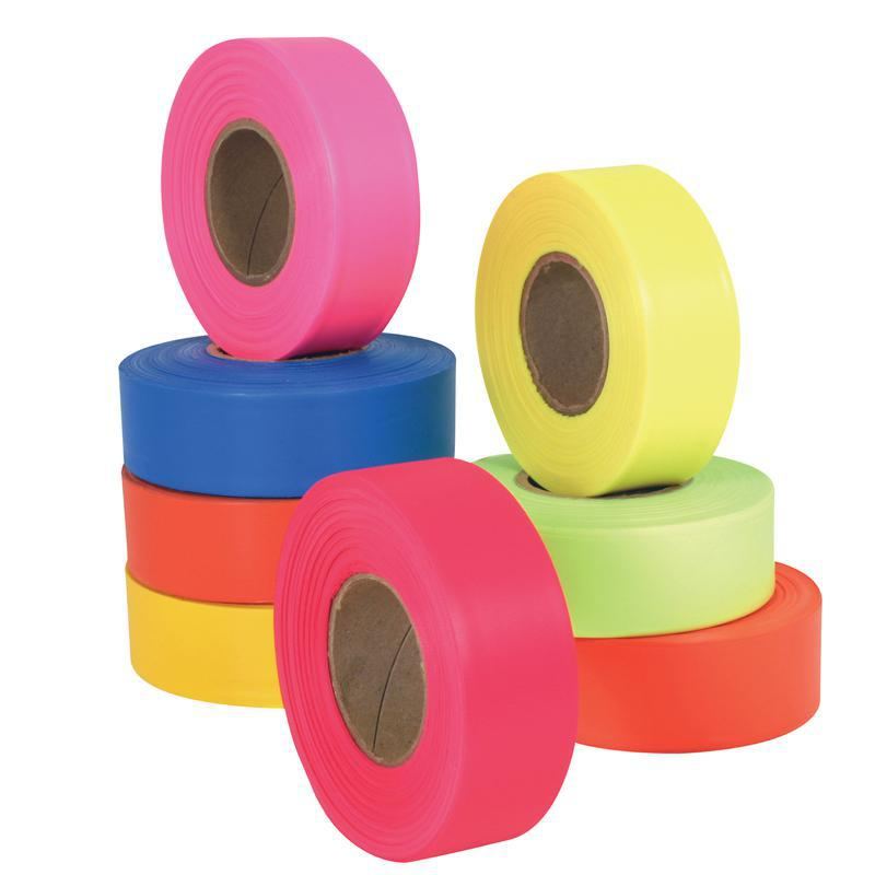 6883 LIME FLAGGING TAPE