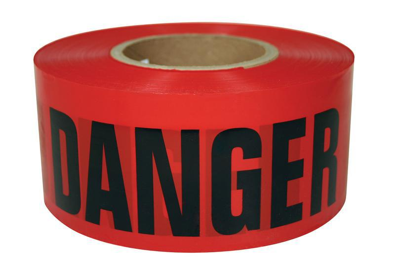 600RD 300 300 FT. RED DANGER TAPE