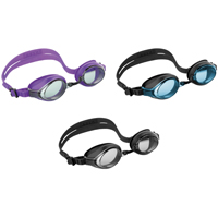 Intex Marketing 55691 Racing Swim Goggle, Silicone Frame