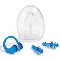 Intex Marketing 55609 Ear Plug/Nose Clip Set, PVC