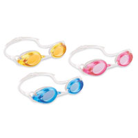 Intex Marketing 55684 Swim Goggle, Tint Polycarbonate Lens