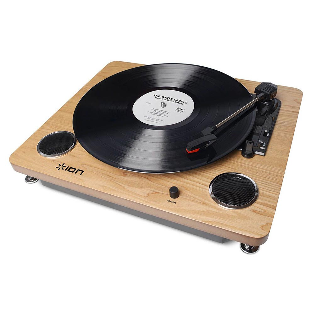 Ion Digital Conversion Turntable with Built-in Stereo Speakers
